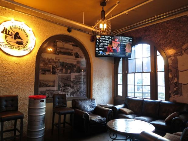 Acoustic Ales Seating Area