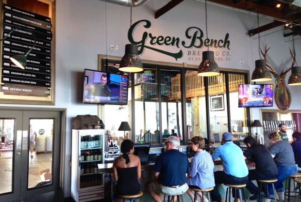 Green Bench Brewing Company Tasting Room