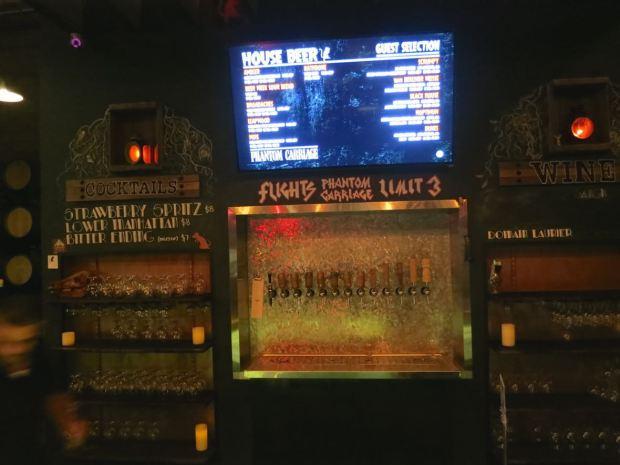 Phantom Carriage Brewery Beer Taps