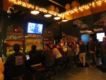 Phantom Carriage Brewery Bar Area