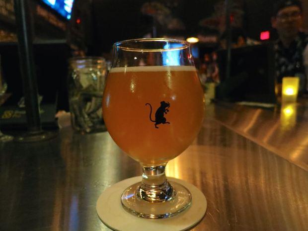 Phantom Carriage Brewery Beer Glass