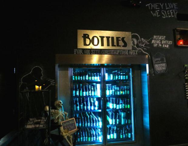 Phantom Carriage Brewery Bottle Refridgerator