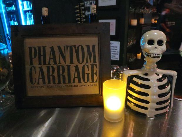 Phantom Carriage Brewery Skeleton