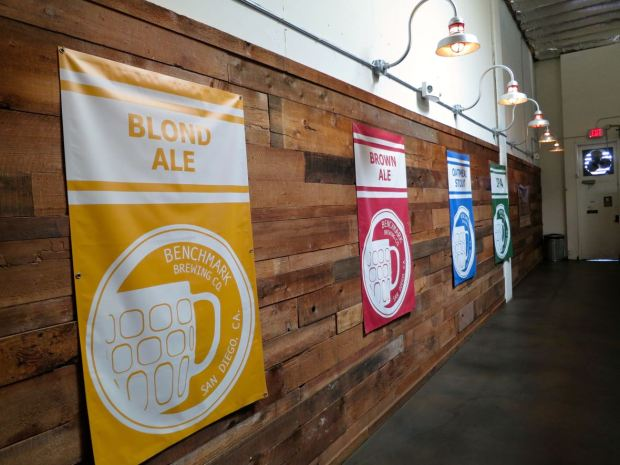 Benchmark Brewing Co Beer Banners