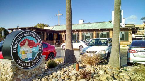 Front of Coronado Brewing Company Imperial Beac