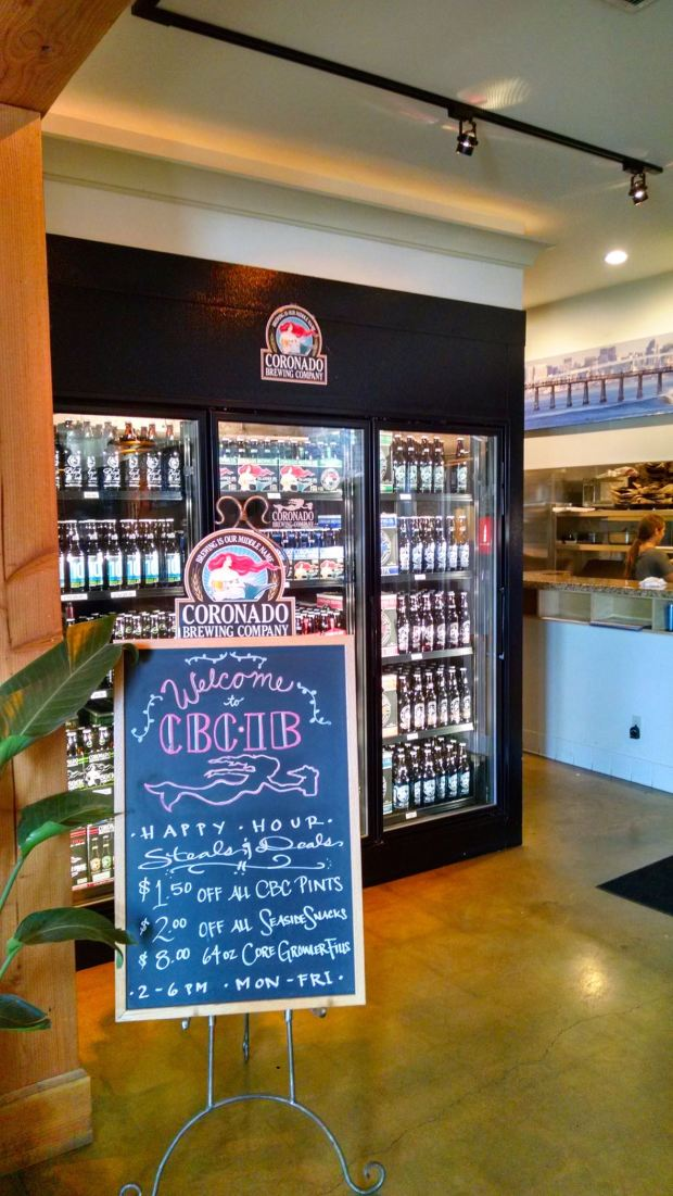 Coronado Brewing Company Imperial Beach Board and Beers