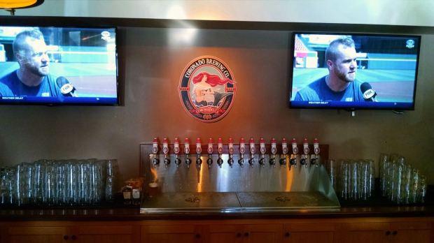 Coronado Brewing Company Imperial Beach Beer Taps