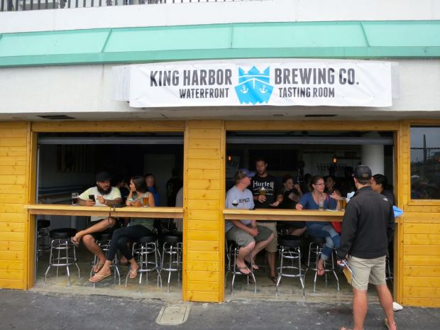 Front of King Harbor Brewing Waterfront Tasting Room