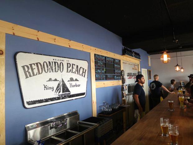 King Harbor Brewing Waterfront Tasting Room Bar Top