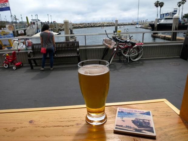 King Harbor Brewing Waterfront Tasting Room Beer Glass
