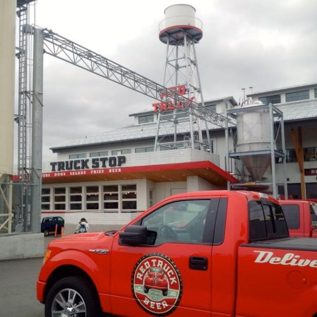 Red Truck Beer Company Outside