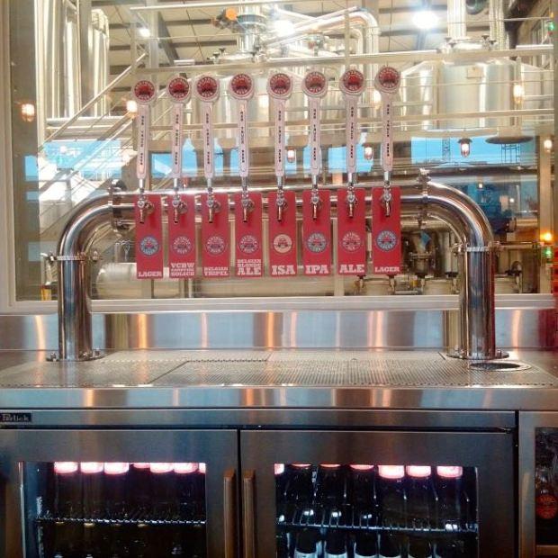 Red Truck Beer Company Beer Taps