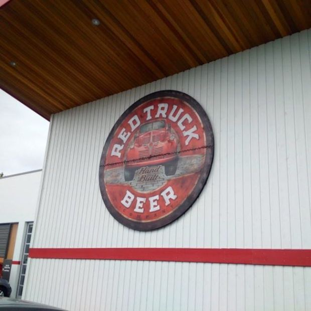 Red Truck Beer Company Sign