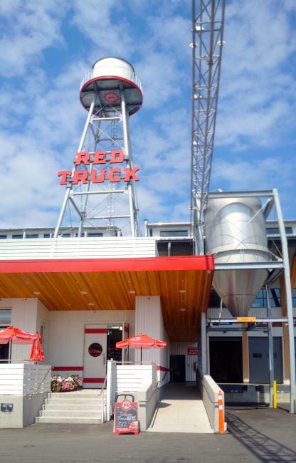 Front of Red Truck Beer Company