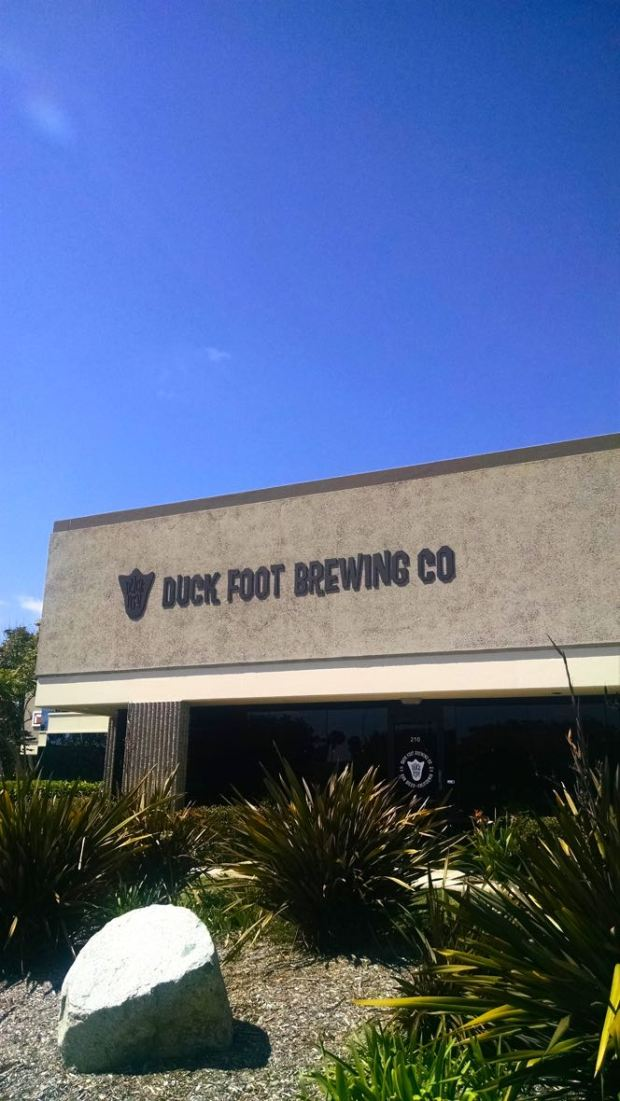 Outside of Duck Foot Brewing Company