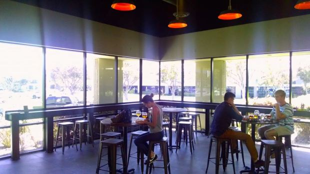 Duck Foot Brewing Company Seating