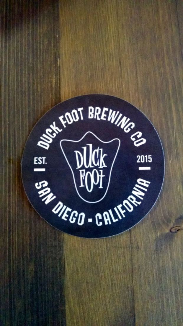 Duck Foot Brewing Company Coaster