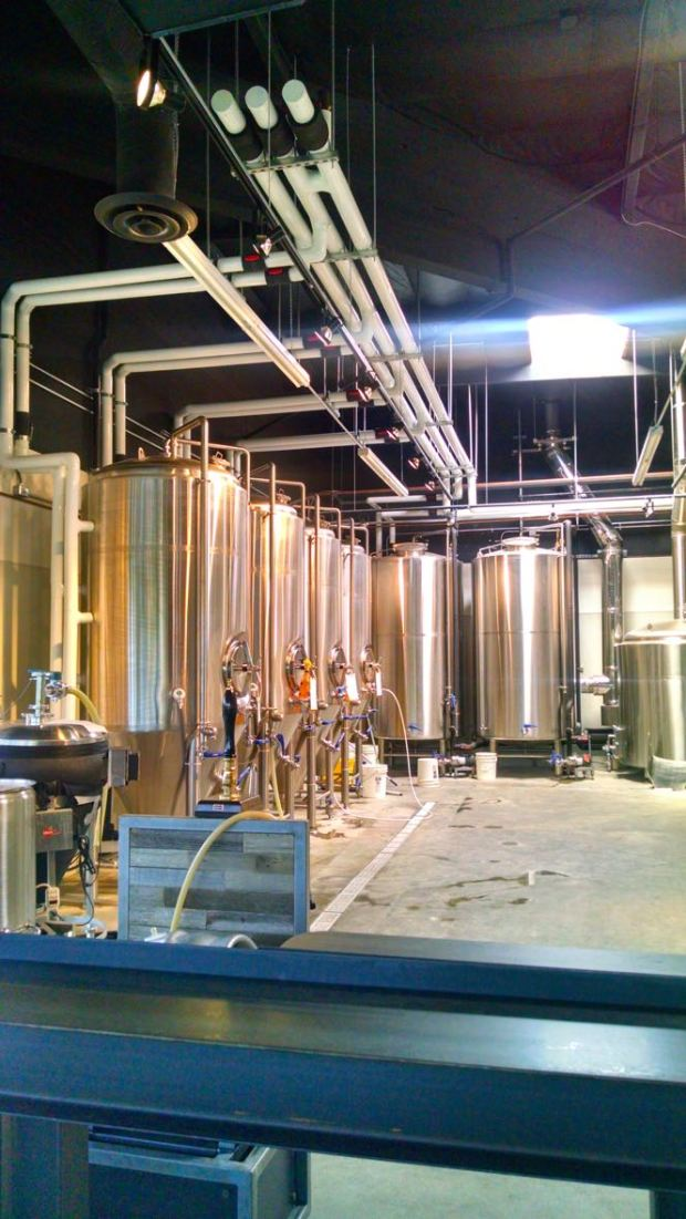 Duck Foot Brewing Company Fermenting Tanks