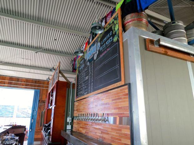 Honolulu Beerworks Side View Taps