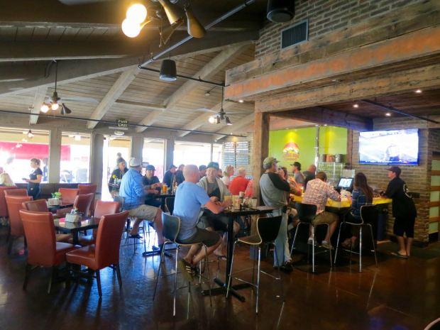 Alpine Beer Company View Toward Bar