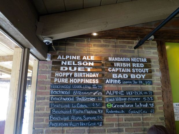Alpine Beer Company Beer Sign