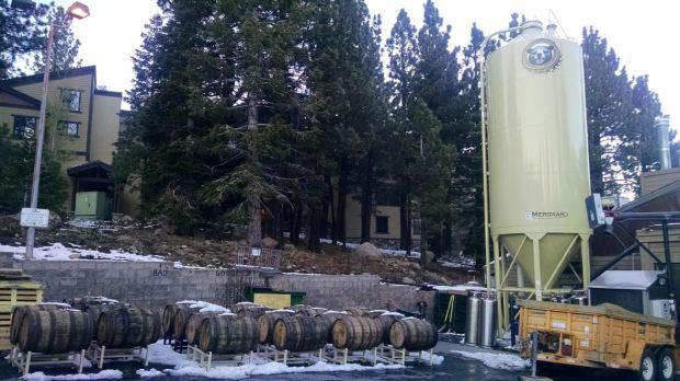 Mammoth Brewing Company Casks