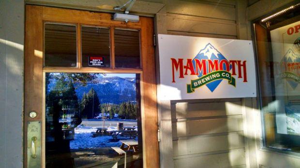Mammoth Brewing Company Front Door