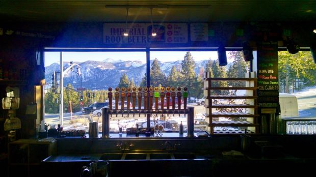 Mammoth Brewing Company Taps