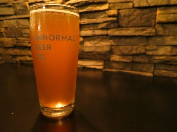 Abnormal Beer Company Beer Glass