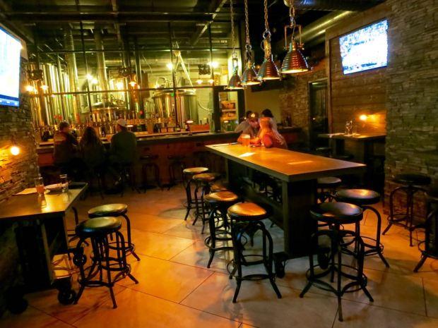 Abnormal Beer Company tasting room