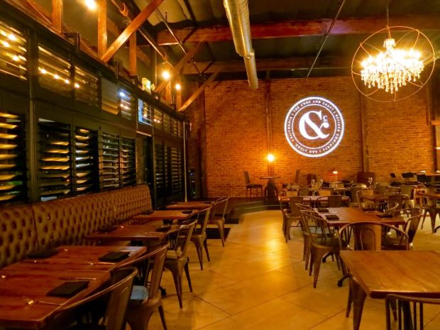 Abnormal Beer Company Dining Area