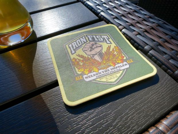 Iron Fist Brewing Barrio Logan Coaster