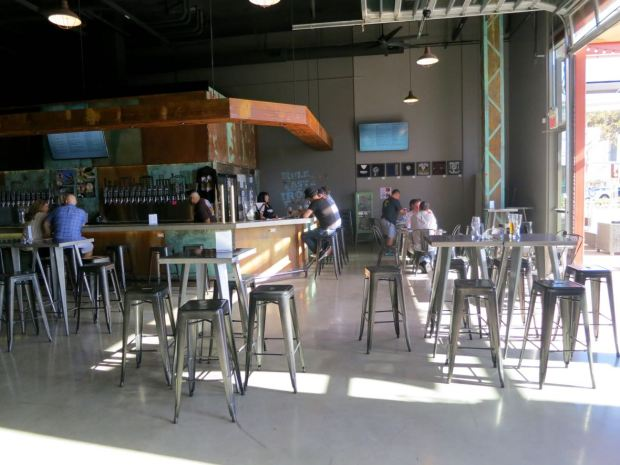 Iron Fist Brewing Barrio Logan Inside Seating