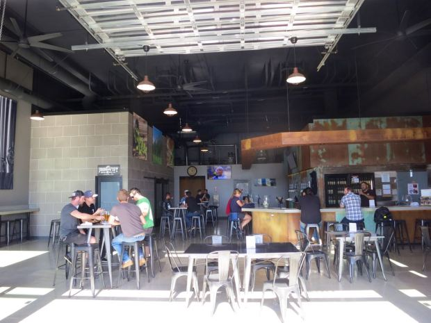 Iron Fist Brewing Barrio Logan View From Patio