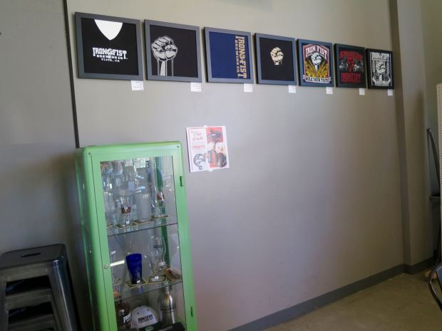 Iron Fist Brewing Barrio Logan Merchandise