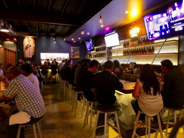 HopSaint Brewing Company Bar Seating