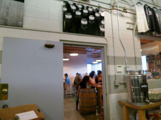 Monkish Brewing Co Door to Bar