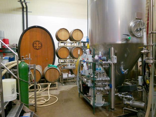 Monkish Brewing Co Barrels
