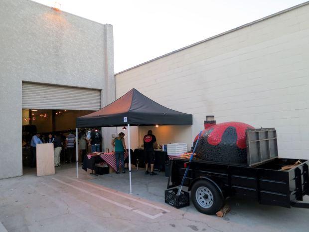 Monkish Brewing Co Back Door