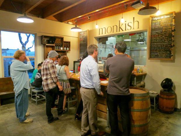 Monkish Brewing Co Bar