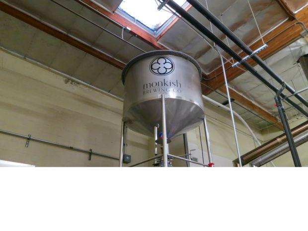 Monkish Brewing Co Tank