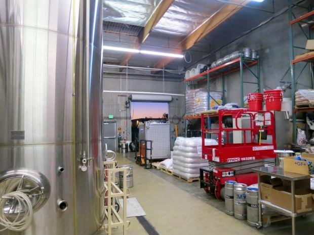 Smog City Brewing Company Back Storage