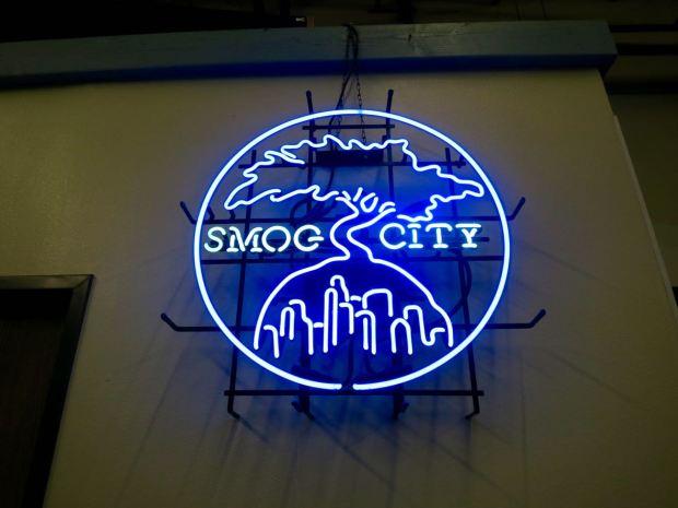 Smog City Brewing Company Neon Sign