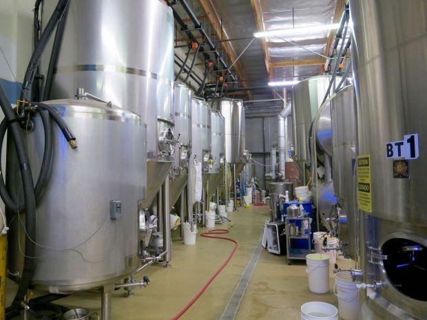Smog City Brewing Company Fermenting Tanks