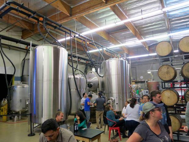 Smog City Brewing Company Tanks and Barrels
