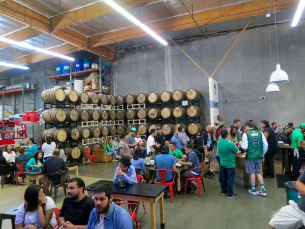 Smog City Brewing Company Tasting Room
