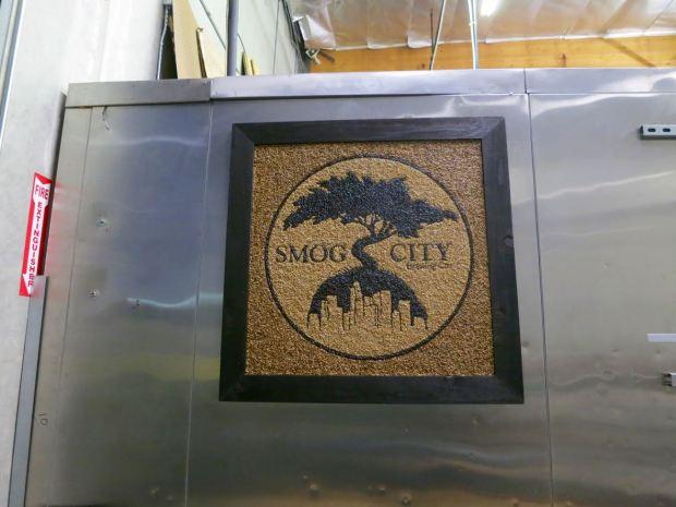 Smog City Brewing Company Sign