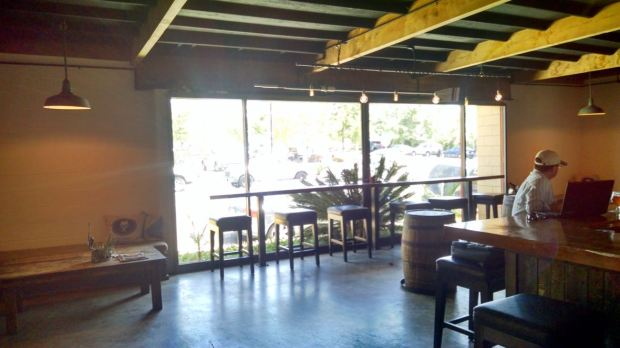 Groundswell Brewing Company Window Seating
