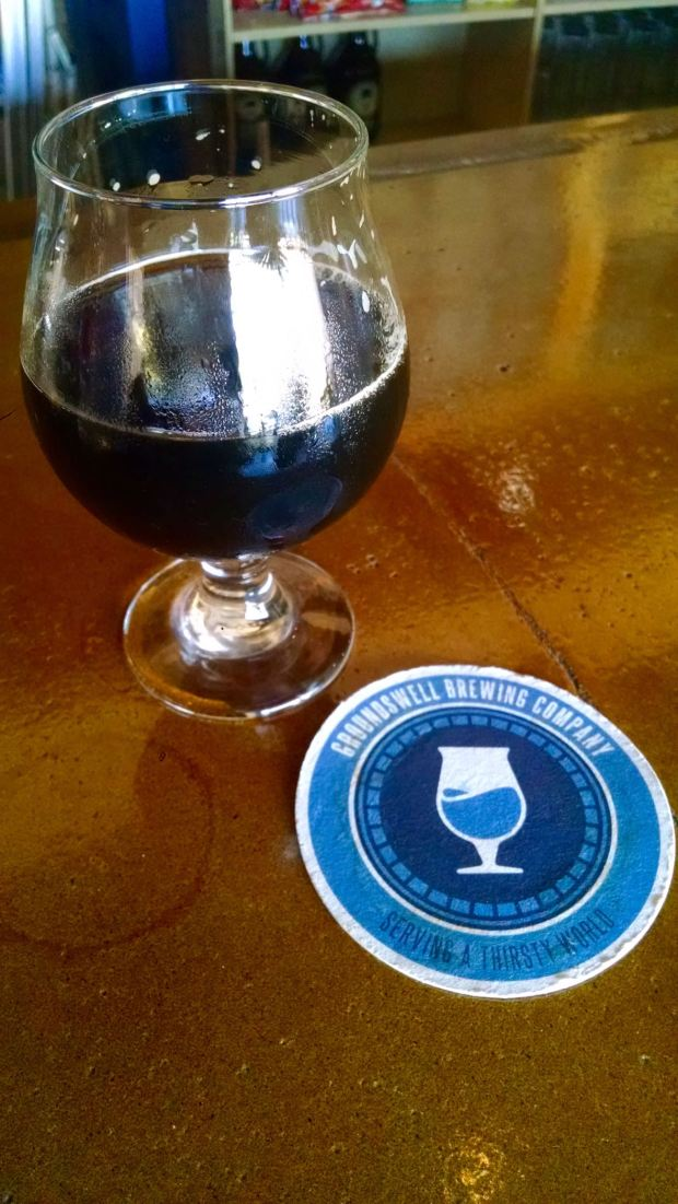 Groundswell Brewing Company Beer Glass