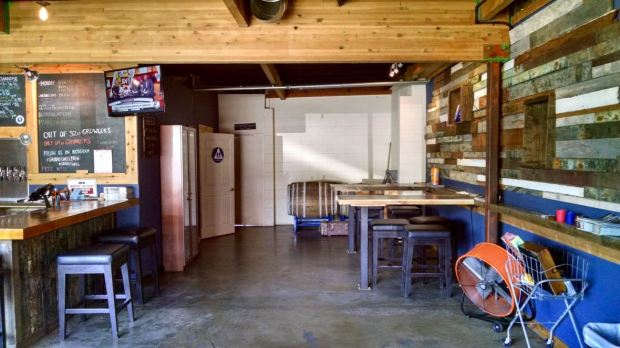 Groundswell Brewing Company Side Seating